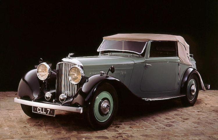 1935 Bentley 3.5 Liter Drophead Coupe Park Ward