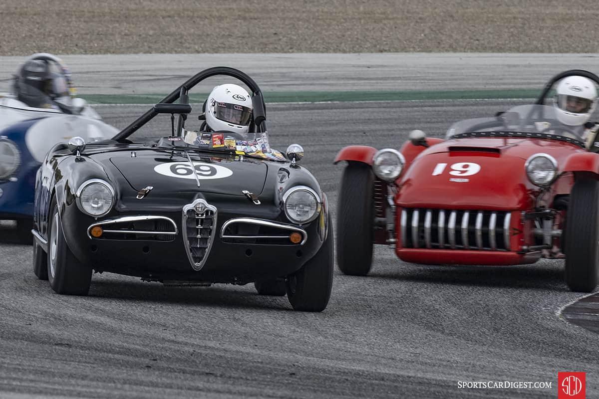Tancredi D'Amore - 1957 Alfa Romeo Giulietta Spyder