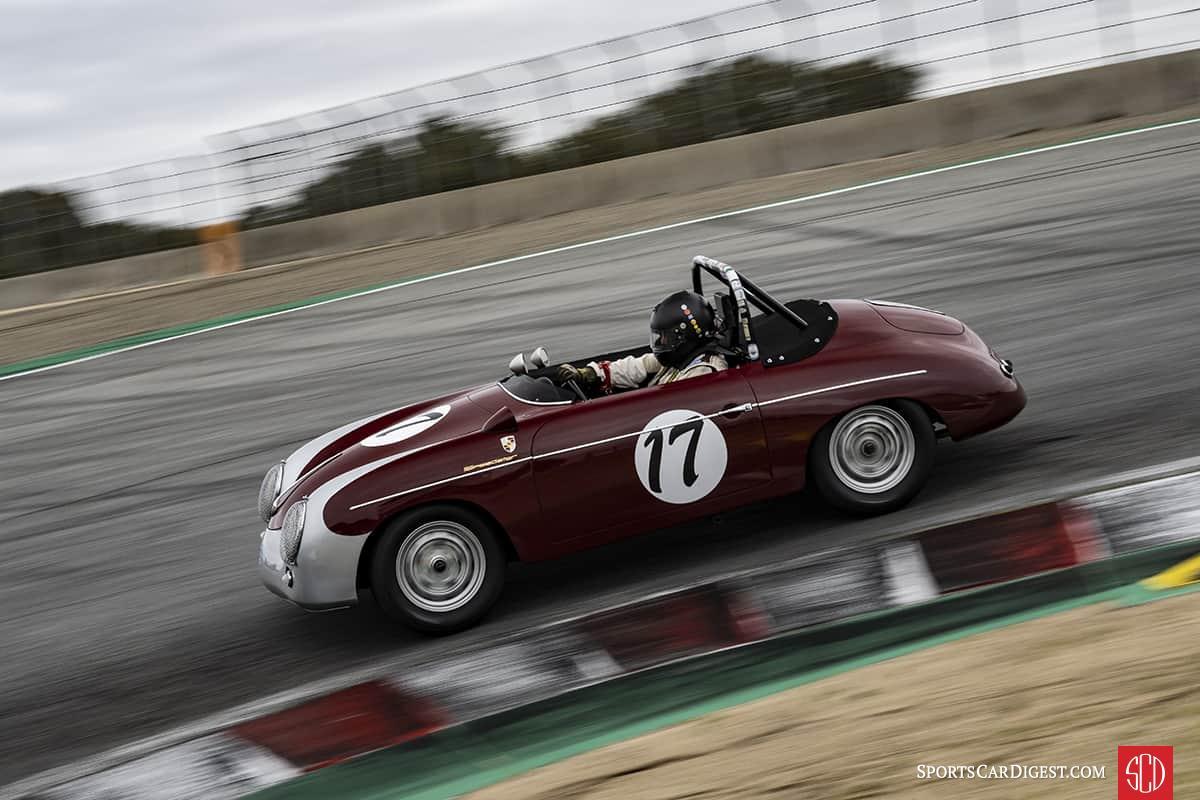 Max Jamiessson - 1957 Porsche 356