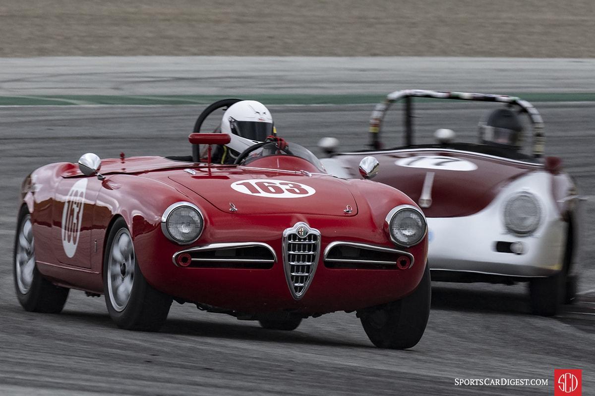 Robert Stoker - 1956 Alfa Romeo Giulietta Spyder
