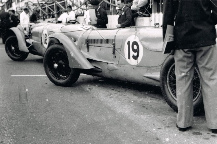 historic photo of car