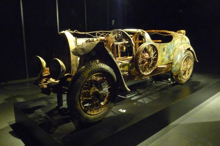 Bugatti sculpture