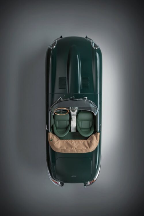 E-type 60 Collection Vehicles birdseye view