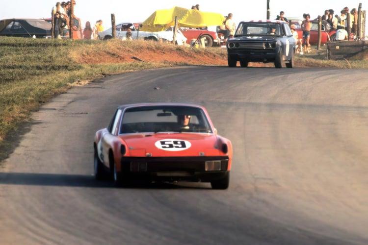 racing the Porsche 914