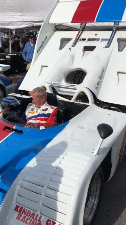 Hurley Haywood in Porssche 917