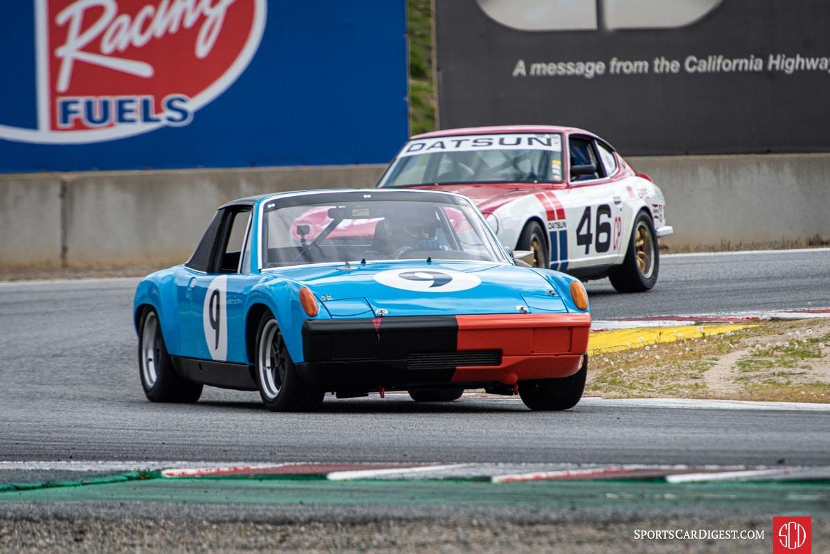 Car #9 Tyler Hagan - 1972 Porsche 914/6