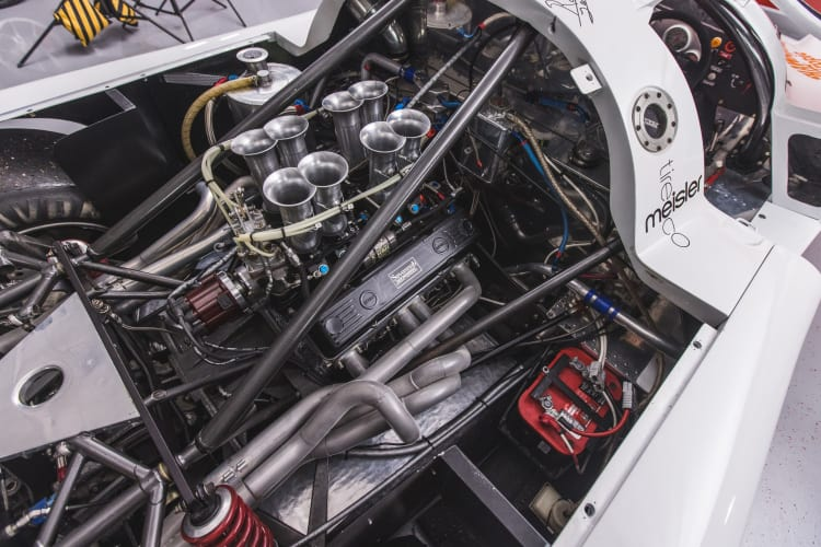 engine of 1983 March-Chevrolet 83G IMSA GTP