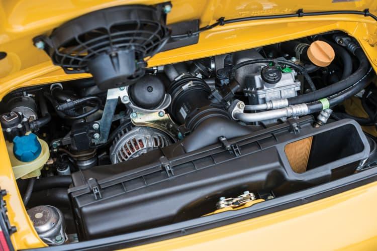 engine of 911 996 GT3