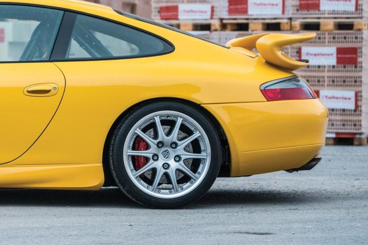 wheels of 911 996 GT3