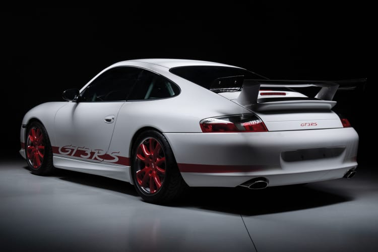 rear of 996.2 GT3 RS
