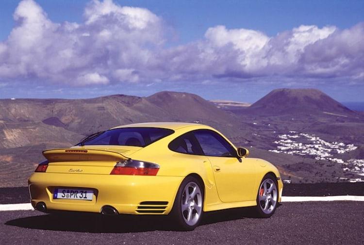Porsche 996 steering