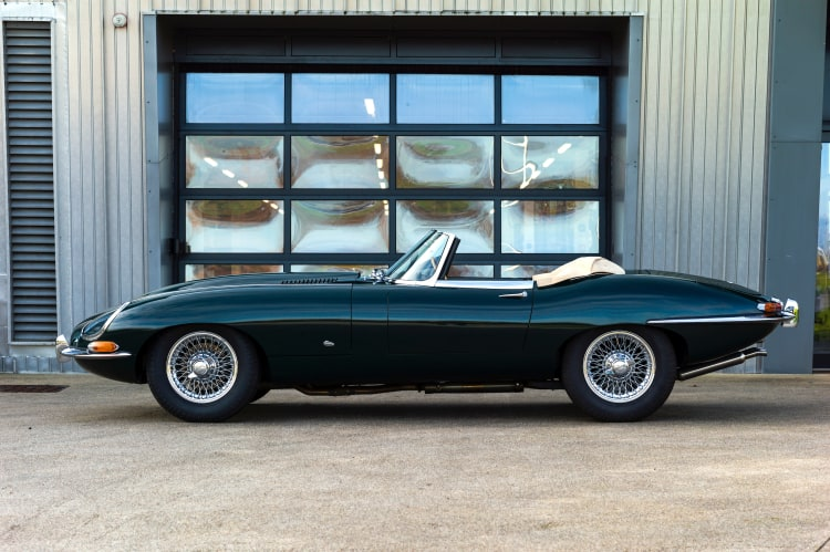 Jaguar E Type roadster
