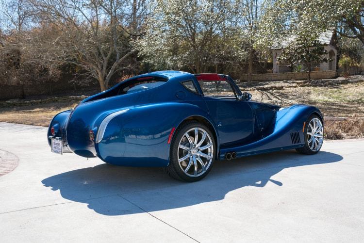 rear of 2010 Morgan Aero SuperSports