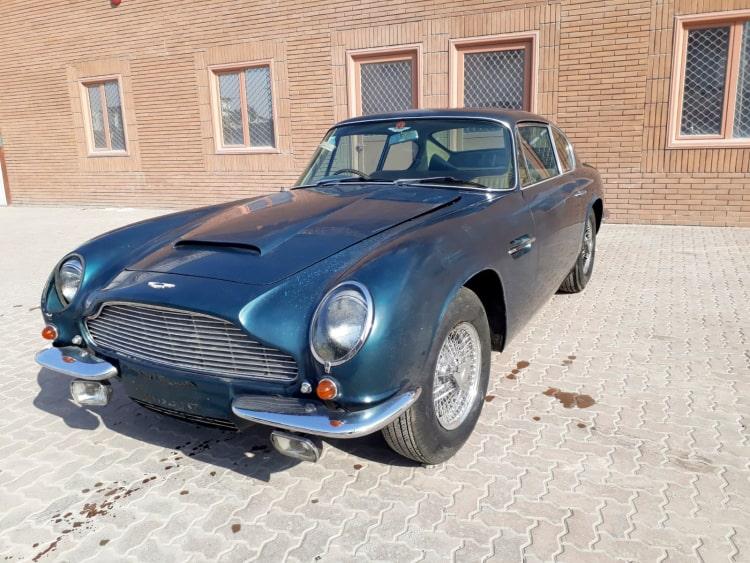1970 Aston Martin DB6 Mk 2 Vantage