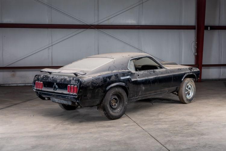 rear of 1969 Ford Mustang Boss 429