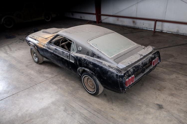 birdseye of 1969 Ford Mustang Boss 429