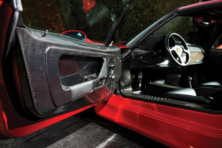 doors with carbon fiber