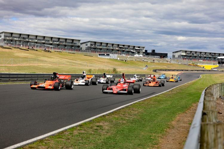 Round 4 F5000 Tasman Cup Revival Series underway