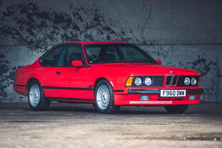 989 BMW 635 CSi