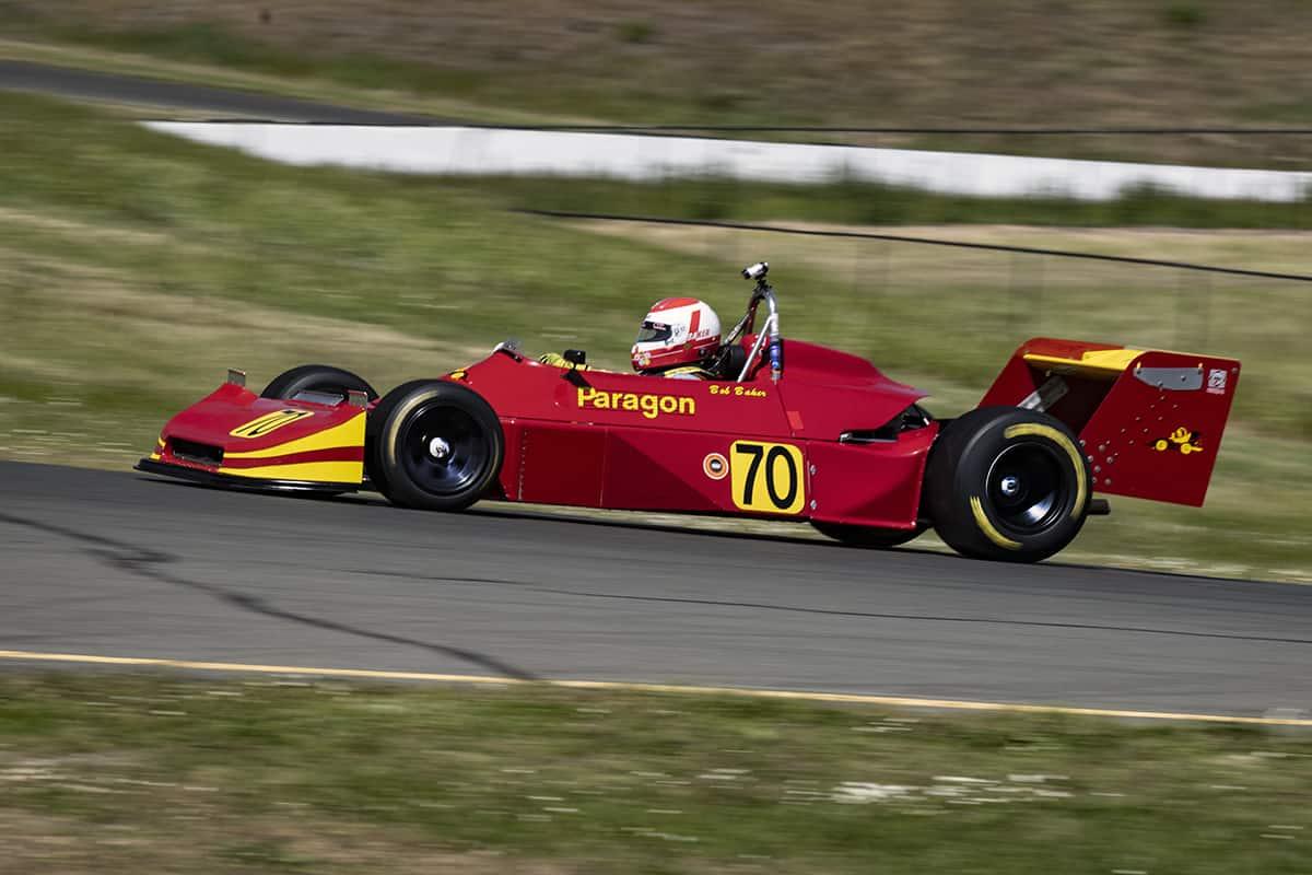 Danny Baker - 1979 Ralt RT1 Atl - Danny brakes for turn two.