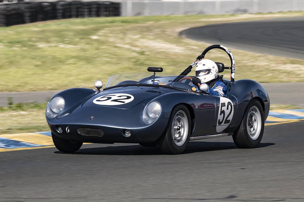 Arthur Conner - 1959 Porsche Devin - one of the nicest small displacement Devin Specials around.