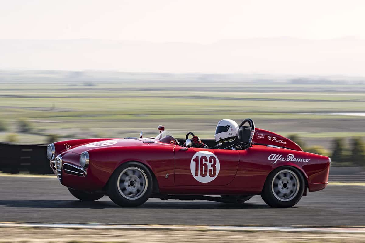 Robert Stoker - 1956 Alfa Romeo Giulietta Spider - Saturday