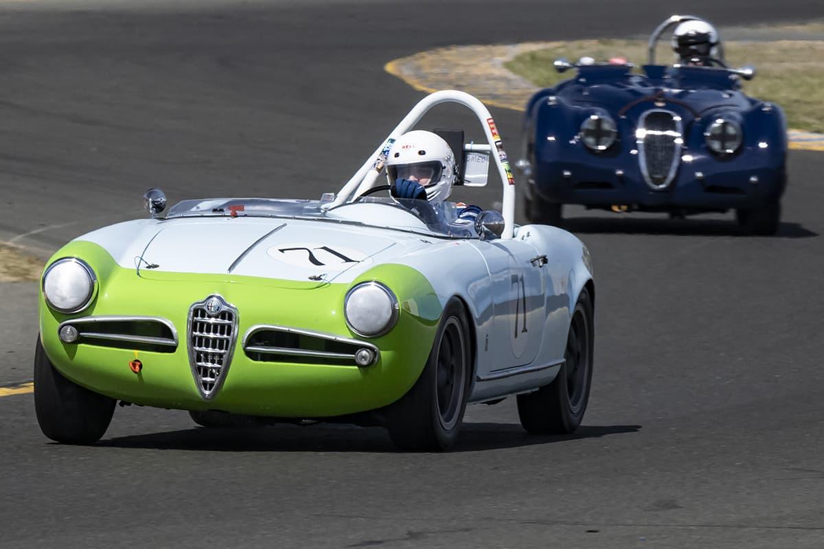 Charles Test - 1957 Alfa Romeo Giulietta Spyde