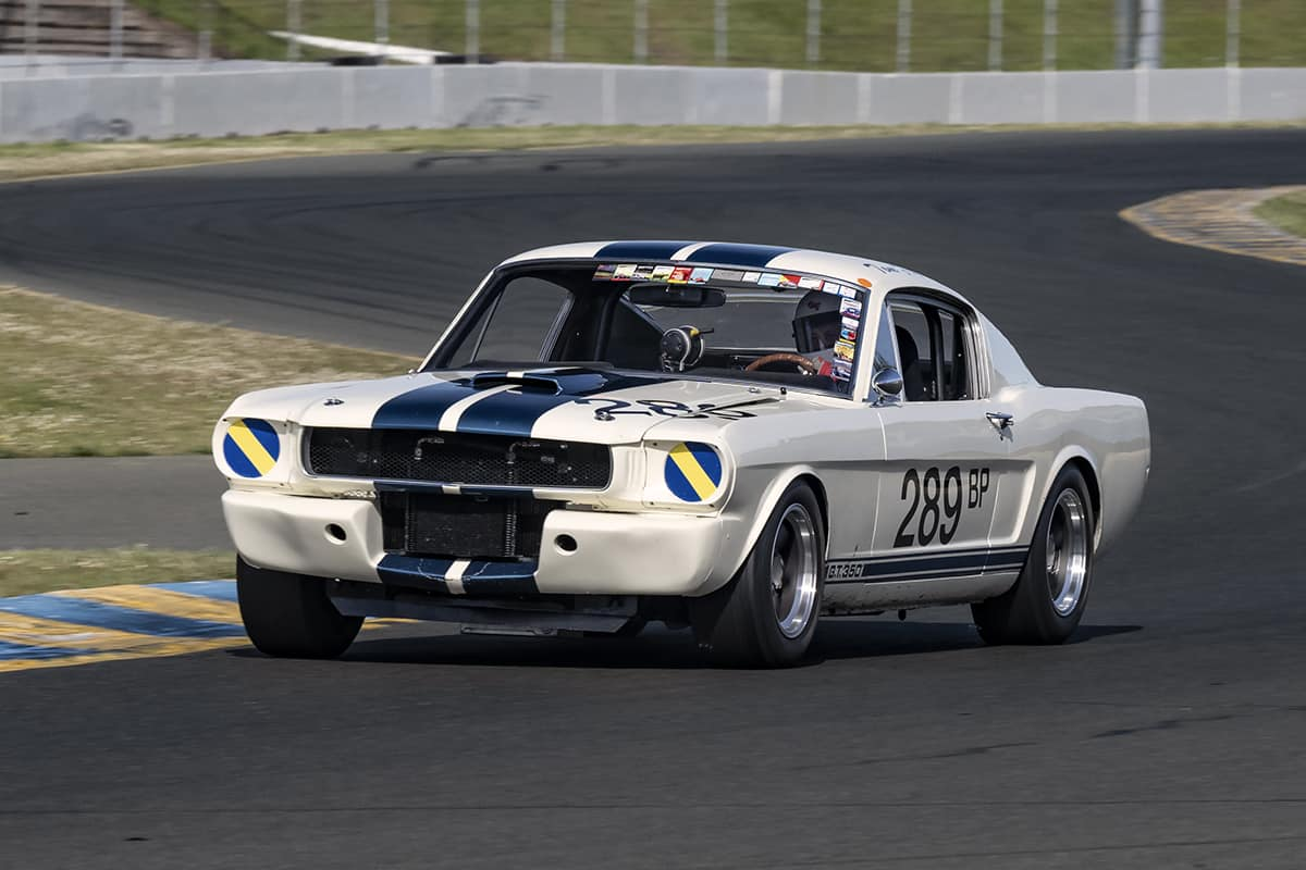 Tom Fry - 1966 Ford GT350 - Tom has been racimg this GT350 for almost forty years.