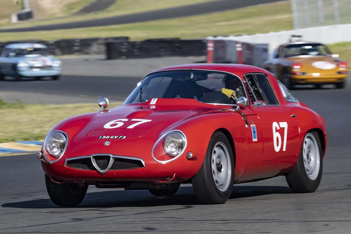 Ned Spieker - 1965 Alfa Romeo TZ1