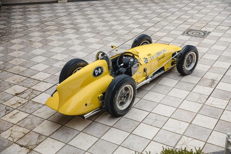 Rear of 1958 Kurtis Kraft 500H Offenhauser Indy Car