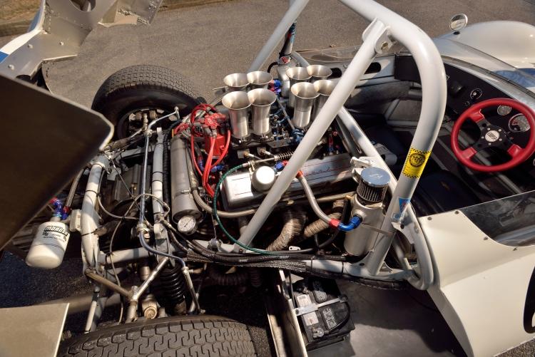 engine of 1964 Cooper Monaco Type 61 Sport Racer