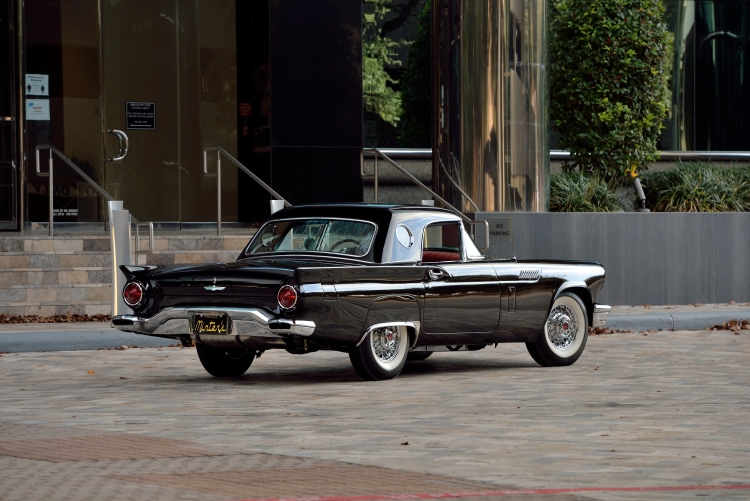 1957 Ford Thunderbird F-Code side profile
