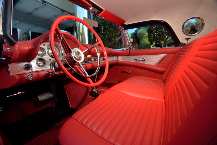 interior of 1957 Ford Thunderbird F-Code