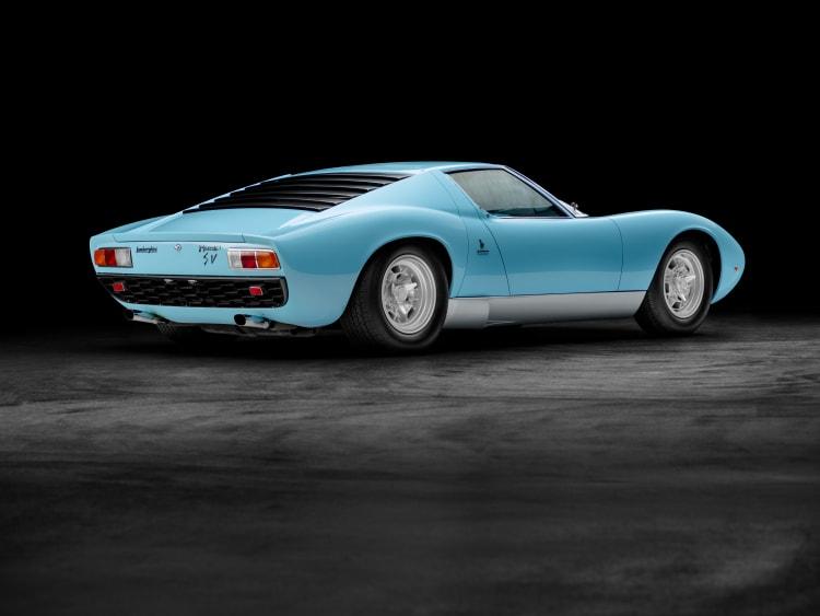 light blue Miura SV