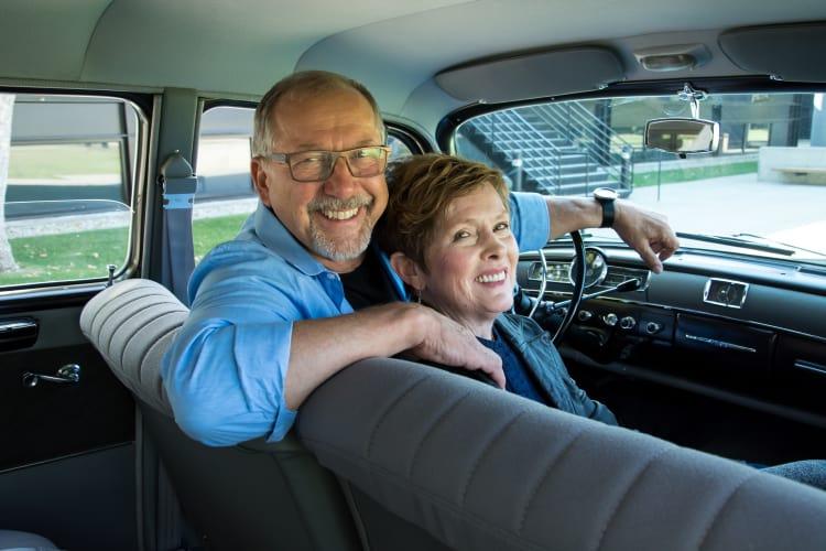 Nancy and Stewart Reed