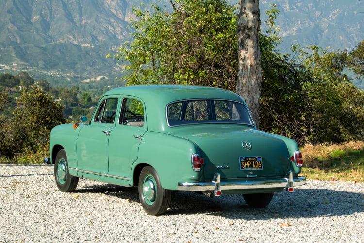 rear of 1958 Mercedes-Benz 180D