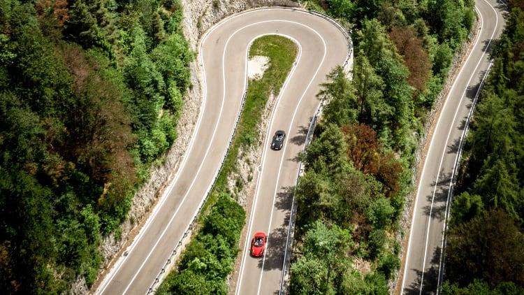 roads of Sella Ronda
