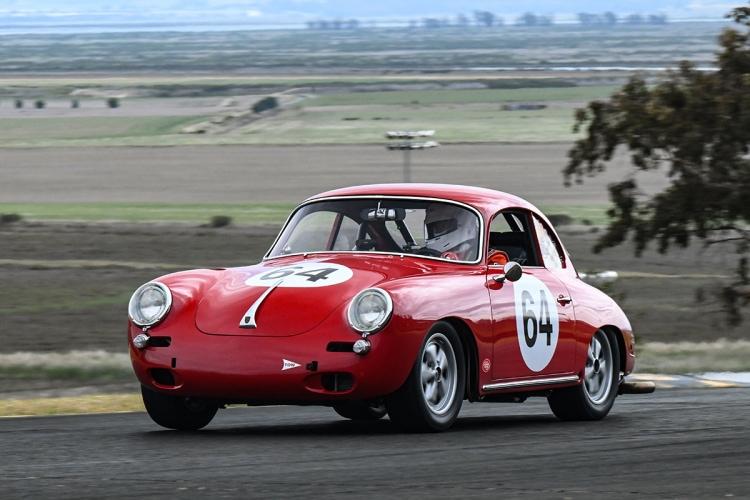 Joseph Rossi – 1964 Porsche 356C Saturday morning.