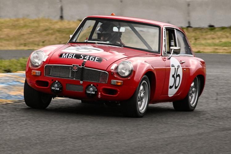 Peter George – 1968 MG GTS