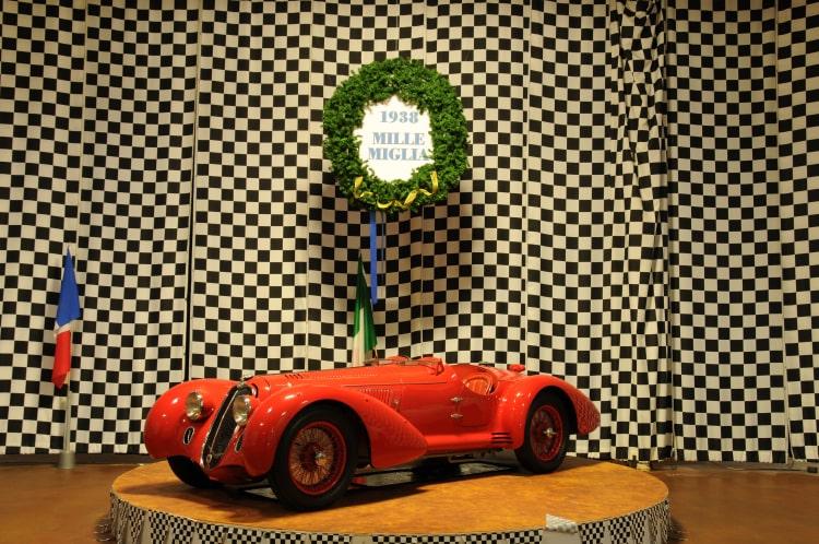 1938 Mille Miglia winning Alfa Romeo 8C2900B MM Spyder