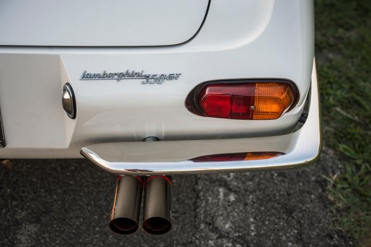 back of 350 GT