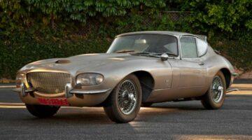 Jaguar E Type Raymond Loewy