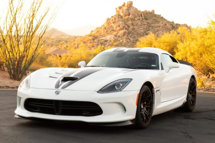 Dodge Viper is number 6 on the cheap supercars list